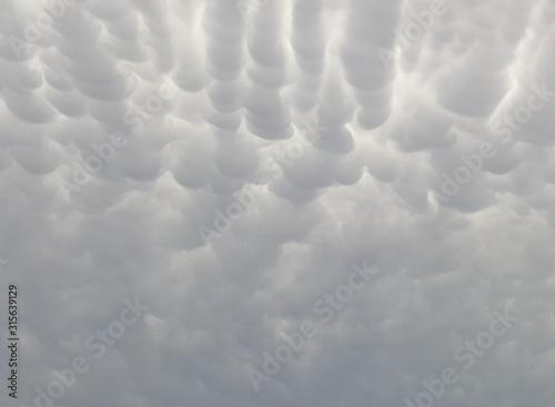 nubes Canvas Print