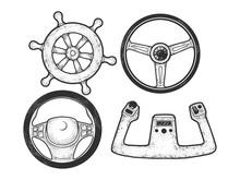 Steering Wheel Set Sketch Engr...