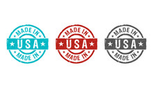 Made In USA Stamp And Stamping