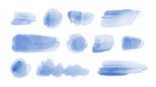 Set Of Vector Watercolor Brush...