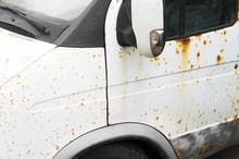 Corrosion On A Car Body,