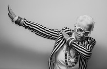 Funny Grandmother Portraits. S...