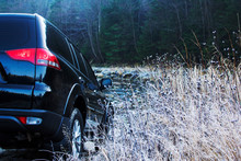 Off-road Car Driving Mountain River