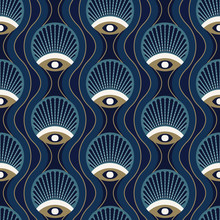 Art Deco Seamless Pattern Desi...