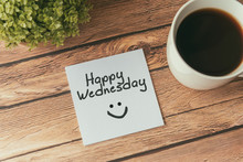 Happy Wednesday With Smile Gre...
