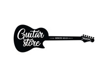 Guitar Store Logo.Music Icons ...