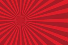 Red Shiny Starburst Background...