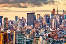 New York, New York, USA Dense ...