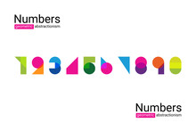 Set Of Colourful Ten Numbers F...
