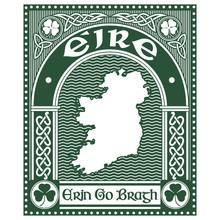 Irish Celtic Design In Vintage...