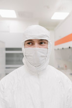 Portrait Of Scientist Wearing ...