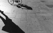 Shadows On A Pavement, Seville...