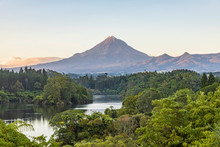 New Zealand, Scenic View Of Gr...