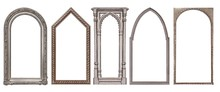 Set Of Silver Gothic Frames Fo...