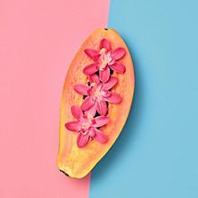 Fresh Papaya Tropical Fruit. B...