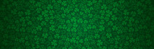 Green Patricks Day Greeting Ba...