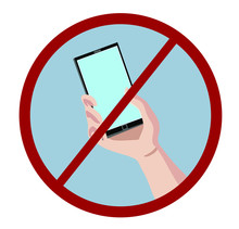 No Cell Phones Allowed, Hand W...