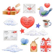 Valentines Day Decoration Wate...
