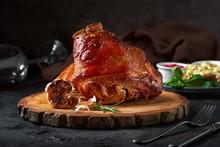 Roasted Pork Knuckle Eisbein W...