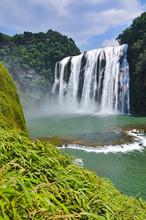 Huangguoshu Waterfall In Guizh...