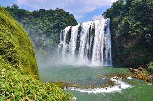 Huangguoshu waterfall in guizhou province - 315759516