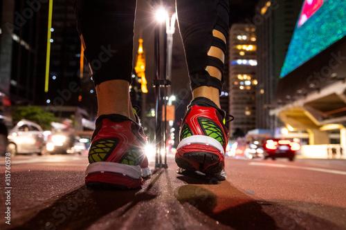 Obraz Cidade de São Paulo, avenida Paulista - fototapety do salonu