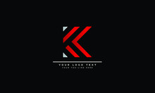 Abstract Letter K, KK Logo Des...
