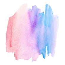 Pastel Color Watercolor Brush ...