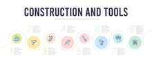 Construction And Tools Concept...
