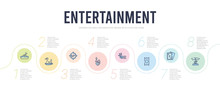 Entertainment Concept Infograp...