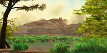 Mountain Landscape - A Mountai...