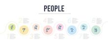 People Concept Infographic Des...