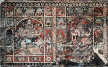 Colored Ancient Frescos The De...