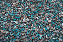 Turquoise Blue And Brown Colou...