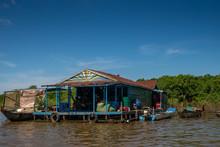 Kompong Khleang Floating Villa...