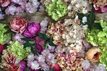 Flower Wall In Bloom