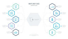 Maps And Flags Concept Busines...