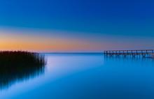 Sunset Over Lake Albert South Australia