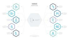 Humans Concept Business Infogr...