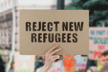 """The Phrase """" Reject New Refuge..."""