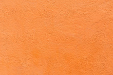 Orange Outdoor Wall Cement Texture Abstract Background