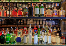 Selection Of Alcohol Bottles O...