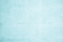 Pastel Blue And White Concrete...