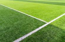 Football Field With Synthetic ...