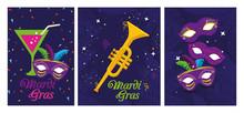 Mardi Gras Trumpet Cocktail An...