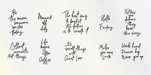 Hand Lettering Inspirational V...