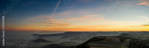 Photo Morgendlicher Nebel im Tal