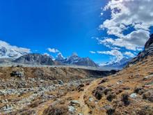 Cholo And Kanchung Mountains O...