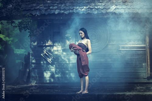 Obraz na plátně Legend of  Mae Nak Phra Khanong