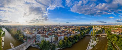 Isar in München Fototapete